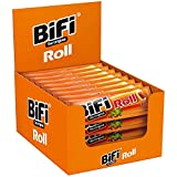 BiFi Roll – 24er Pack (24 x 45 g) – Snack im Teigmantel – Herzhafter, original Salami Fleischsnack