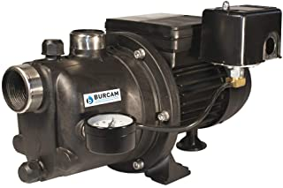 BURCAM 506221P 3/4 HP Noryl Shallow Well Jet Pump