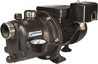 BURCAM 506221P 3/4 HP Noryl Shallow Well Jet Pump