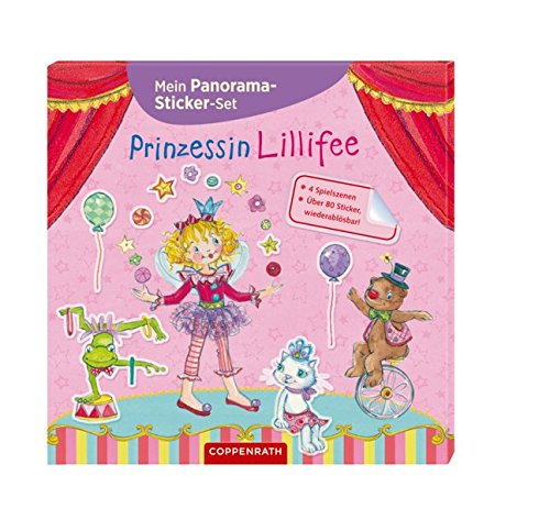 Mein Panorama-Sticker-Set: Prinzessin Lillifee
