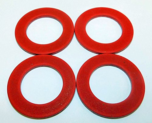 FOUR PACK Size #22 fiber meat grinder thrust washer fits Hobart auger worm gear 8422 4222 4822 4622 8822 and others. Please compare measurements to your needs.