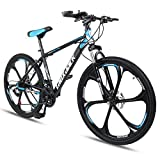 Zmarthumb - Hardtail Mountain Bike Bicycle, 26 inch Mag Alloy Wheel 21-Speed, Lightweight Mountain Bikes for Men Women Adult and Youth