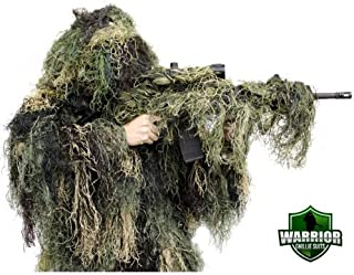 Arcturus Warrior Ghillie Suit - Camouflage Hunting Suit for Men, Military, Hunters, Snipers & Airsoft