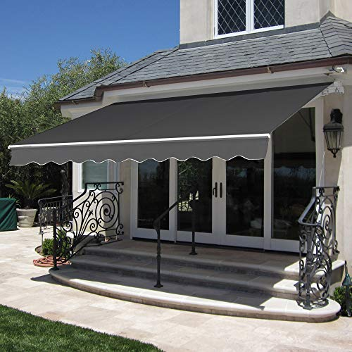 Best Choice Products 98x80in Retractable Awning,...