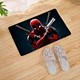 Tapis, Vengeurs Spiderman Paillasson Semelle Intérieure Tapis De Cuisine Intérieur Extérieur Bienvenue Salle De Bain Tapis De Sol Antidérapants 40 cm * 60 cm D