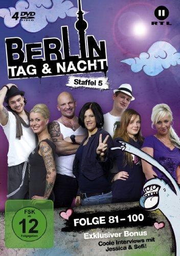 Berlin - Tag & Nacht, Vol.  5: Folgen 81-100 (Fan Edition) (4 DVDs)