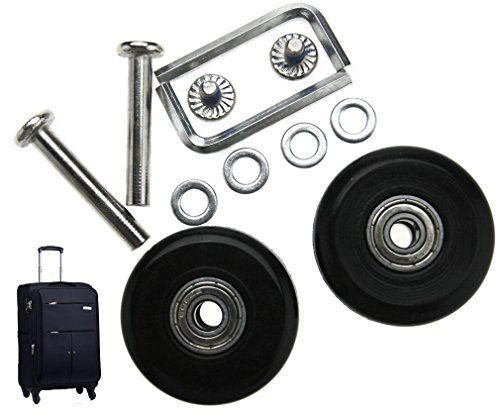 Micro Trader 2Pair Luggage Suitcase Wheels Repair Kit OD 40mm