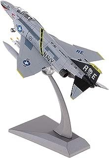 non-brand 1: 100 Modelo de Aviones Militares F-4 Fighter Phantom II Atacante Diecast Toy - 1:100 EF-2000 Eurofighter Typhoon