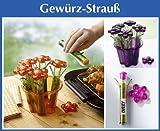 Wenko Gewürz-Strauß Orange 7-teiligSet Salzstreuer Streuer Küche Neu & OVP