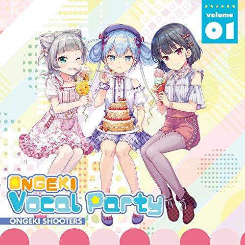 [album]ONGEKI Vocal Party 01 – オンゲキシューターズ[FLAC + MP3]