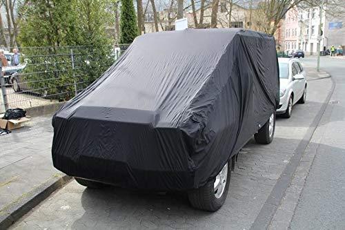 AMS Vollgarage Anti-Frost für Mercedes G-Klasse kurz, wetterfeste Autoabdeckung für optimalen Frostschutz, Winterabdeckung mit Perfekter Passform, wasserfest & super leicht