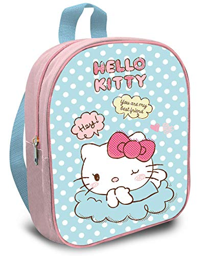 Kids Hello Kitty Mochila Infantil, 30 cm, Pastel