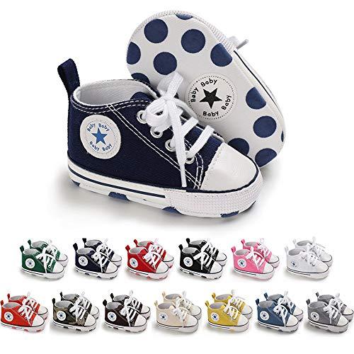 Antheron Infant Moccasins - Unisex Baby Girls Boys Tassels Soft Sole Toddler First Walker Newborn Crib Shoes(Golden,0-6 Months)