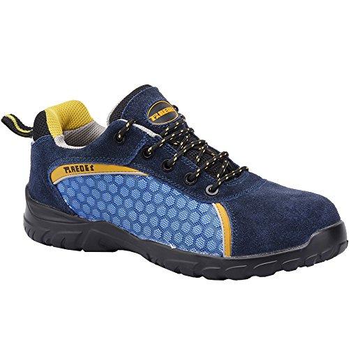 Paredes RUBIDIO AZUL PAREDES SP5013-AZ/45 - Zapato seguridad azul, puntera + plantilla Compact No metálica. Modelo RUBIDIO AZUL. Categoría S1P SRC - Talla 45