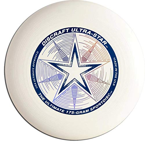 Discraft Ultra-Star Ultimate Frisbee 175g Championship Sportdiscs-Pearl Purple