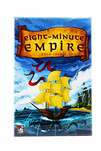 Red Raven Games RRG00003 Brettspiel Eight Minute Empire
