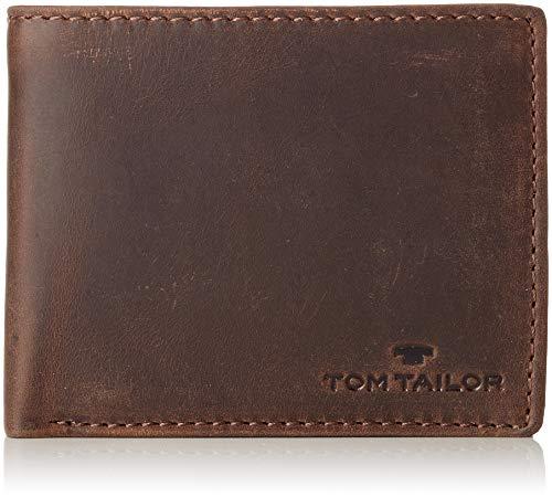 TOM TAILOR bags RON Herren Geldbörse one size, brown, 12,5x2x9,5