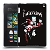 Official Joker Batman: Harley Quinn 1 Character Art Soft Gel Case Compatible for Amazon Fire HD 7