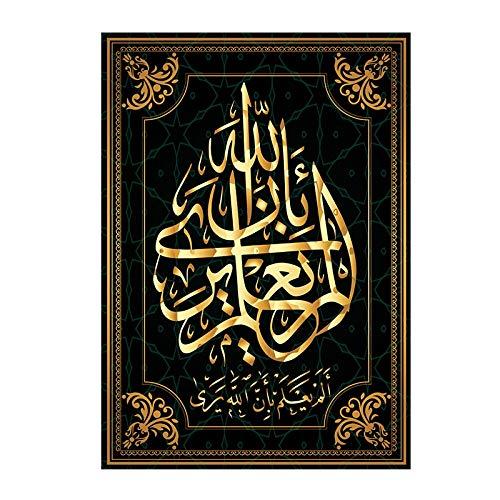 5d diamant schilderij kits volledige boor DIY islamitische kalligrafie 40x50cm geen frame diamantkunst accessoires Volwassen kinderen ambachten