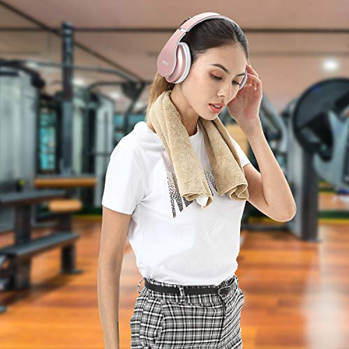 Bluetooth Headphones Wireless,MKay Over Ear Headset V5.0 with Microphone, Foldable