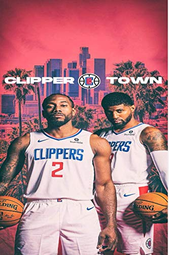 CLIPPER LA TOWN: (Basketball) Notebook / Journal / bloc note - 120 pages 6x9