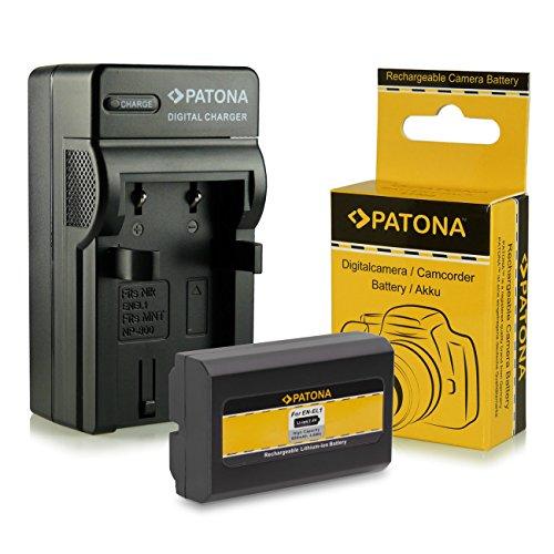 Compatible avec Minolta DiMAGE A200 en-EL1 NP-800 CELLONIC 2X Batterie Compatible avec Nikon Coolpix 4300 Coolpix 4500 Coolpix 4800 Coolpix 5000 Coolpix 5400 Chargeur MH-53 BC-900 Accu Rechange