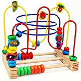 Best Bead Mazes - Wooden Beads Maze Game Educational Toys for Toddler Review