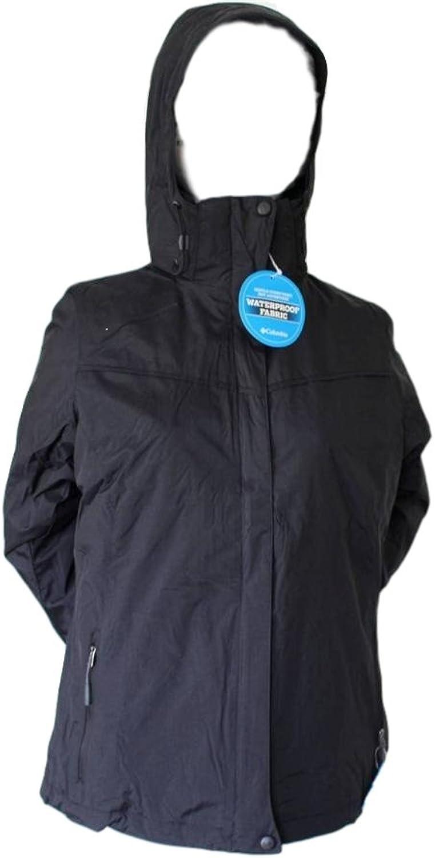 Columbia Women's 3 in 1 Shimmery Pine Interchange Jacket Size Medium Black