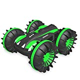 FREE TO FLY Remote Control Car Boat Truck 4WD 6CH 2.4Ghz Land Water 2 in 1 RC Toy Car Multifunction Waterproof Stunt 1: 16 Remote Vehicle with Rotate 360 Electric Car Toy