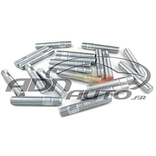 ADNAuto 16884 Pack 20 Goujons-14 X 150-80Mm-B1 52Mm B2 13Mm