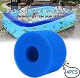 JYWJ - Cartucho de filtro para Intex tipo S1, reutilizable y lavable, para piscina, filtro de agua, esponja