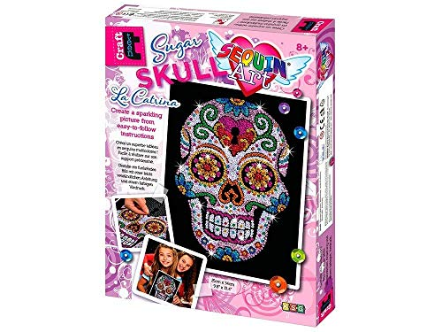 Sequin Art Sugar Skull Sparkling Arts...