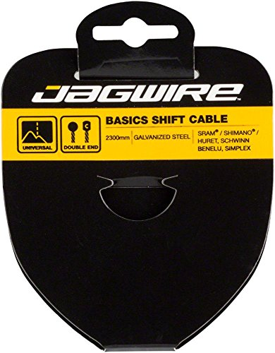 Jagwire Sport 4mm Mini Inline Cable Tension Adjusters Pair Black