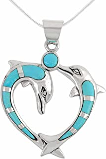 Best turquoise dolphin necklace Reviews