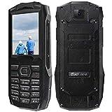 Telephone Portable Incassable, Blackview BV1000 Téléphone Senior avec Grandes Touches, IP68, 3000mAh Power Bank, Lampe de Poche...