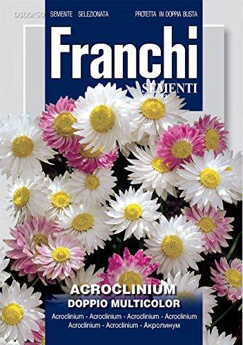 Franchi - FDBF_300-50 - Acroclinium - Double Mix - Graines