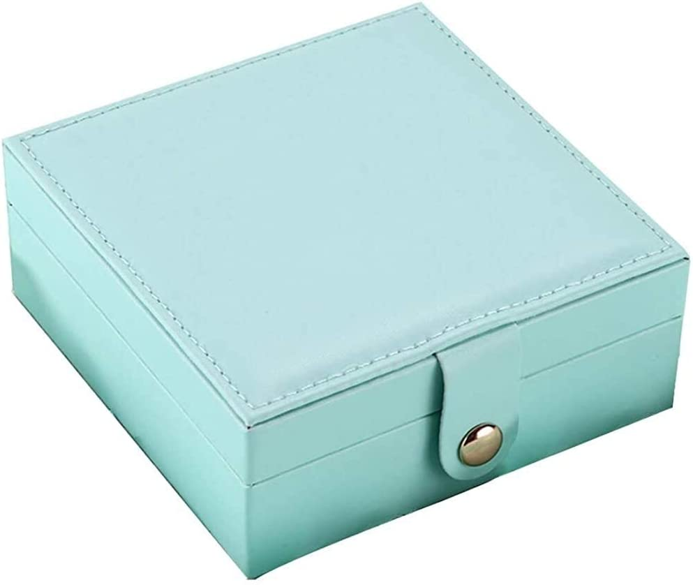 DFGH PU Simple Jewelry latest Box Storage Portable Creative Fashion