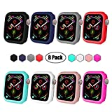 BOTOMALL for IWatch Case 38mm 42mm 40mm 44mm Premium Soft Flexible TPU Thin Lightweight Protective Bumper...