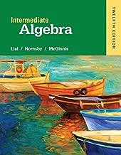 Best intermediate algebra lial 12th edition Reviews