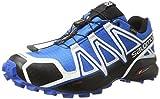 Salomon - Speedcross 4 - Chaussures à Randonnée - Homme - Multicolore (White Sensif...
