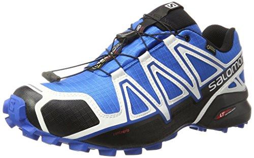 Salomon Salomon Herren Speedcross 4 GTX, Trailrunning-Schuhe, Mehrfarbig (White Sensif Indigo Bu), 44 EU