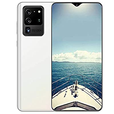 S20U 7.5 Inch Unlocked Android Cell Phone 8+256GB of Storage, Fingerprint ID and Facial Recognition, Long-Lasting Battery, 8+16MP