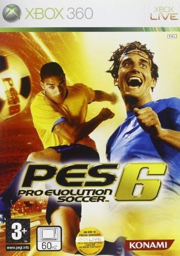 Konami Pro Evolution Soccer 6, Xbox 360 - Juego (Xbox 360, Xbox 360, Deportes, Konami)