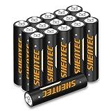 16 pezzi Shentec 1.2V 1000mAh AAA Batterie Ricaricabili con 1200 cicli,Pile Ricaricabili da Ni-MH con Comodo Astuccio