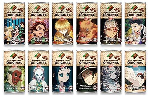ダイドー鬼滅の刃コラボ12種類ダイドーブレンドコーヒーオリジナル鬼滅の刃コラボ185g缶×12本入12絵柄全種類各1本=計12本