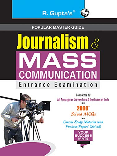 Journalism & Mass Communication Entrance Exam Guide (Popular Master Guide)