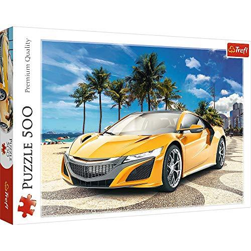 Brandsseller Puzle - Puzzle (500 piezas), diseño de coches deportivos