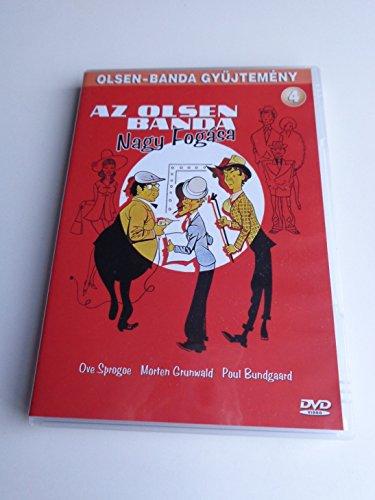 Olsen Bandens Store Kup / Az Olsen Banda Nagy Fogasa - 4. resz / The Olsen Gang's Big Score - Danish and Hungarian Sound Options / ENGLISH Subtitles - European DVD Region 2 PAL (1972)