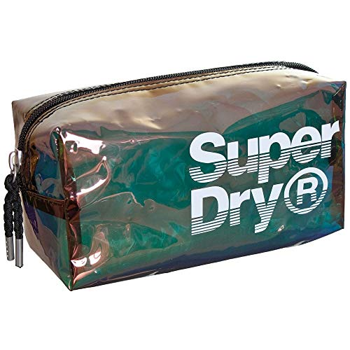 Superdry Tasche Case SUPER JELLY BAG Black Iridescent, Size:ONE SIZE