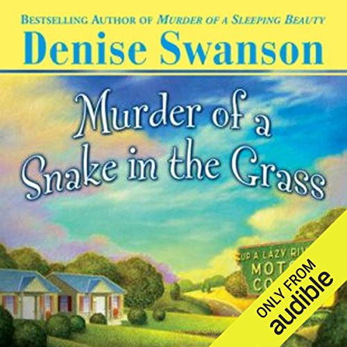 Murder of a Snake in the Grass audiobook cover art
